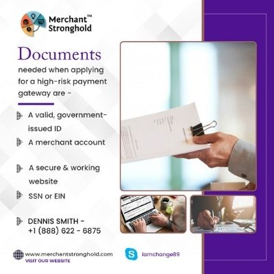 Documents needed while applying for a high risk payment gateway.