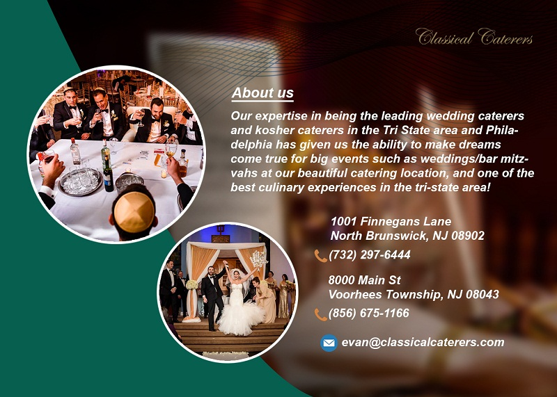 Excellant Caterers for Weddings Classical Caterers
