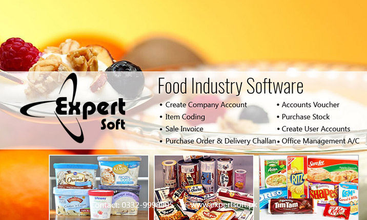 Food Industry Software Food Manufacturing Software Expert Soft