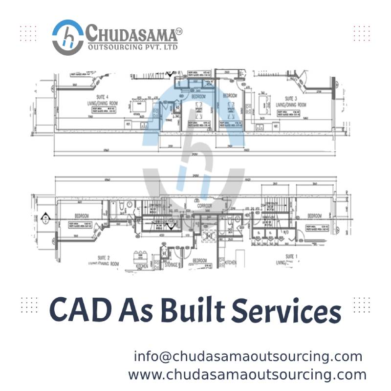 Get Best CAD as Built Services Chudasama Outsourcing