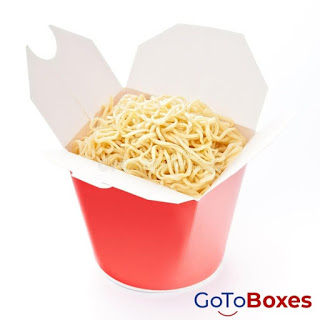 Get Ecofriendly and recyclable Custom Noodle Boxes at GoToBoxes