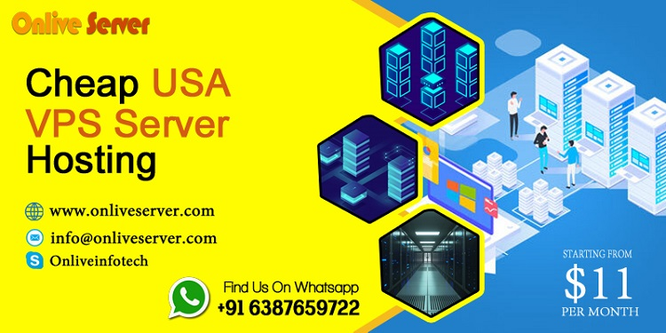 Get Right and Cheap USA VPS Server Hosting by Onlive Server