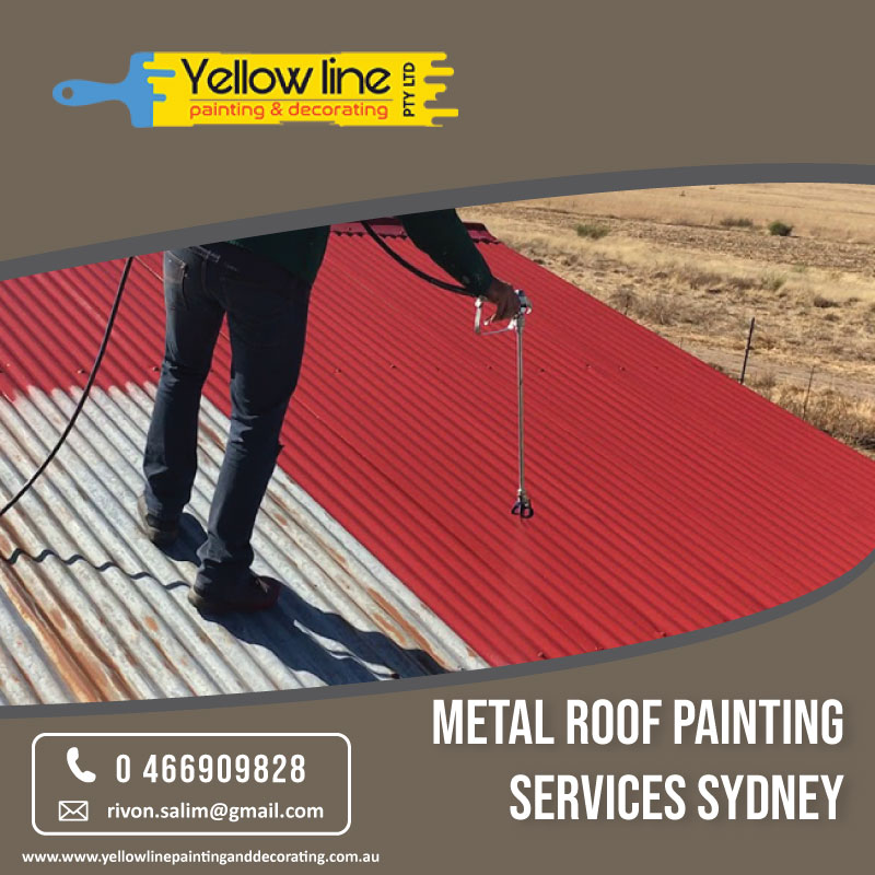 Hire Metal Roof Painting Experts in Sydney