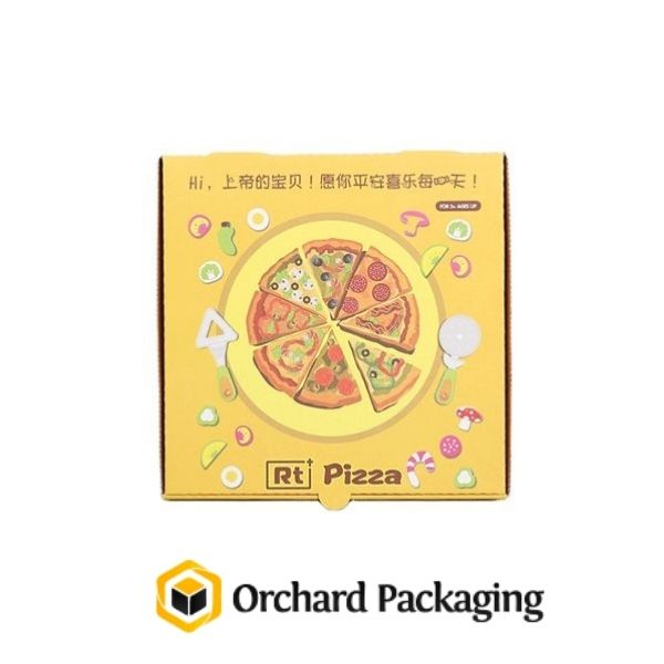 Impacts of Customized Pizza Boxes