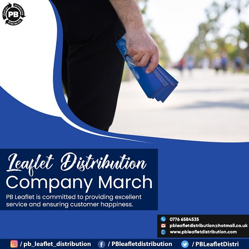 Leaflet Distribution Company March