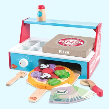 Pizza Oven Playset for Kids