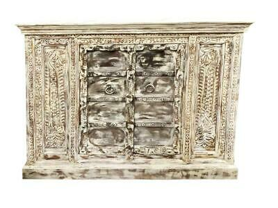 Rustic Carved Sideboard Unique Old World Elements