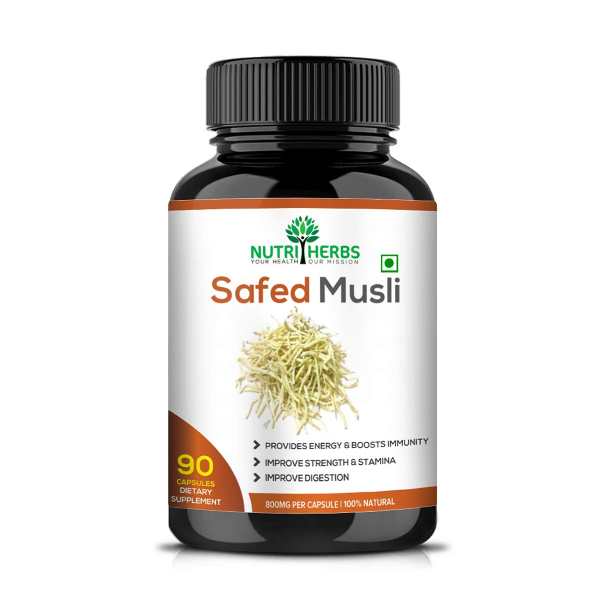 Safed Musli Capsules Your Daily Supplement for Extra Energy