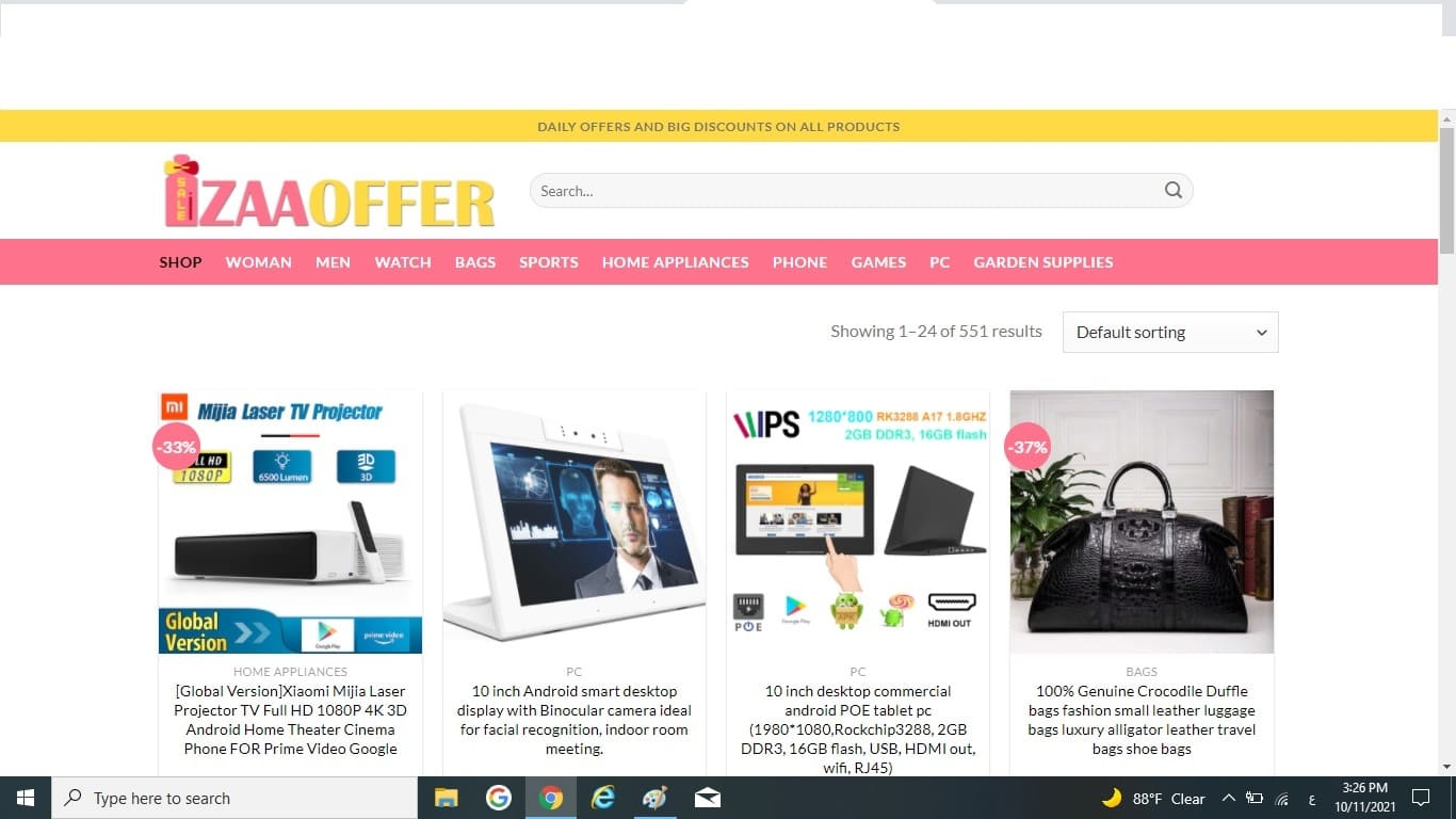 A store zaaoffer : Best offers and discounts