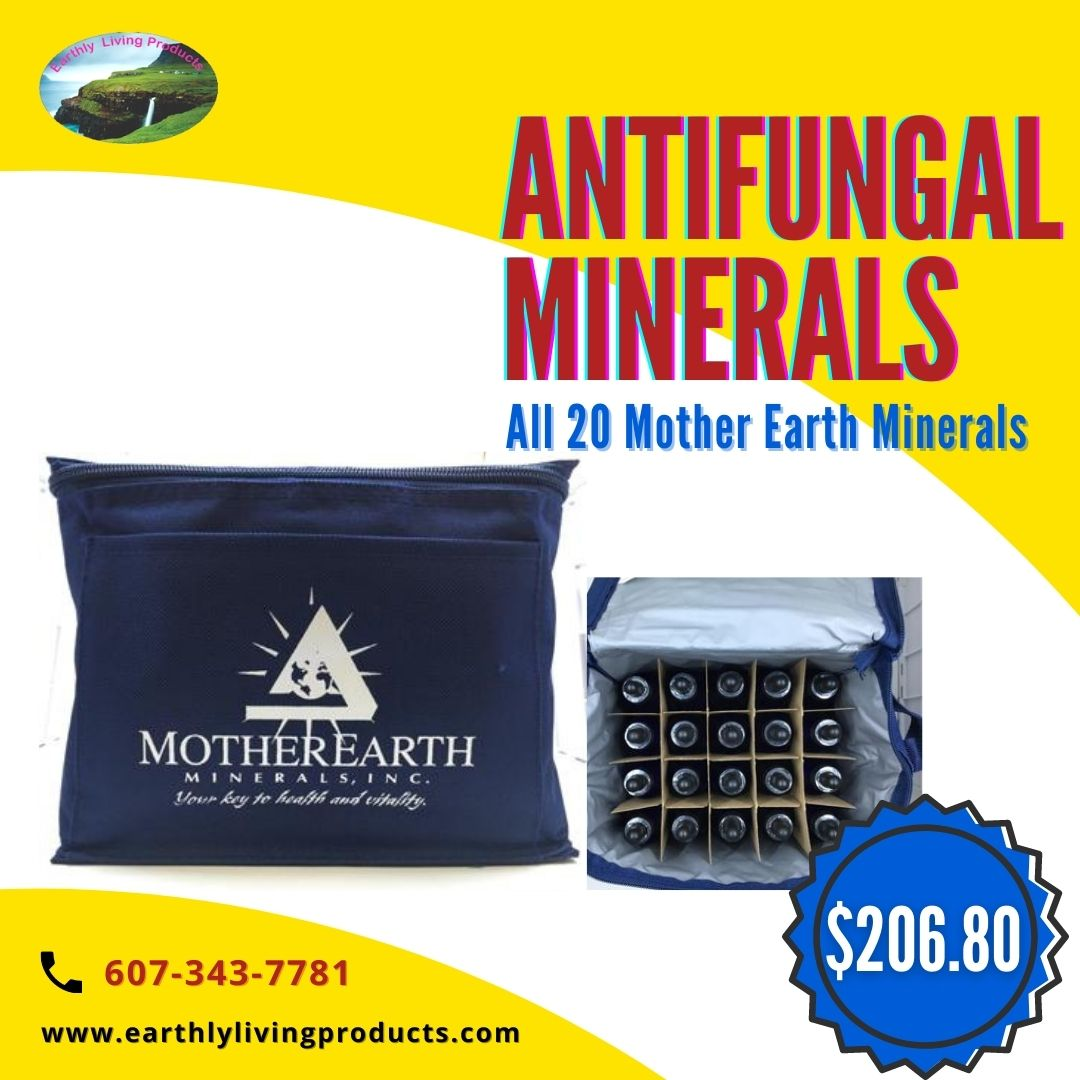 All 20 Mother Earth Antifungal MineralsBest mineral supplementation