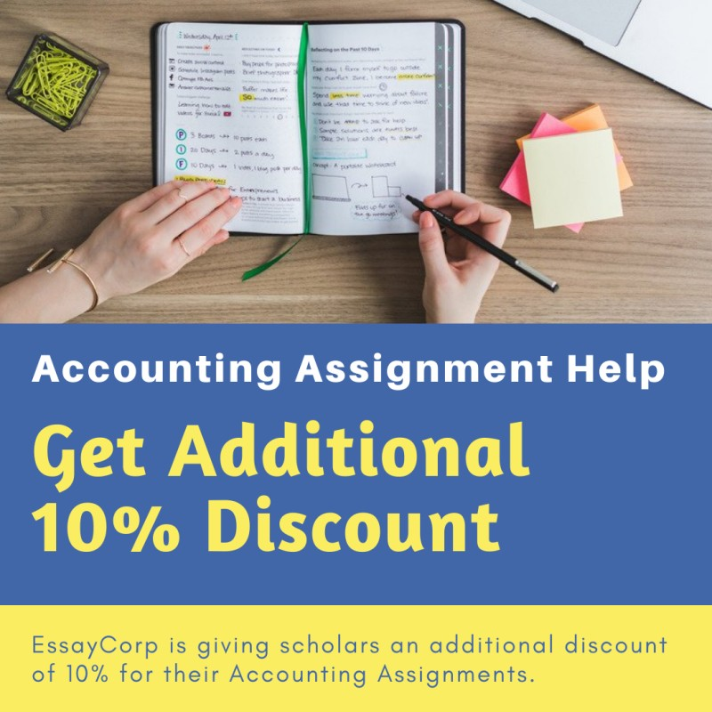 Avail of an additional 10 discount for your Accounting Assignment in Austra...