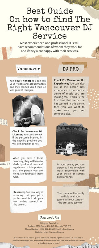 Best Guide On How To Find The Right Vancouver DJ Service