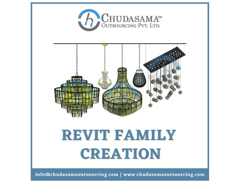 Best Revit Family Creation USA Chudasama Outsourcing