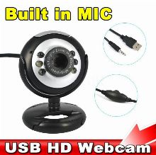 BEST SELLING USB 30M LED HD CAMERA WITH MICRO PHONE FOR PC LAPTOP