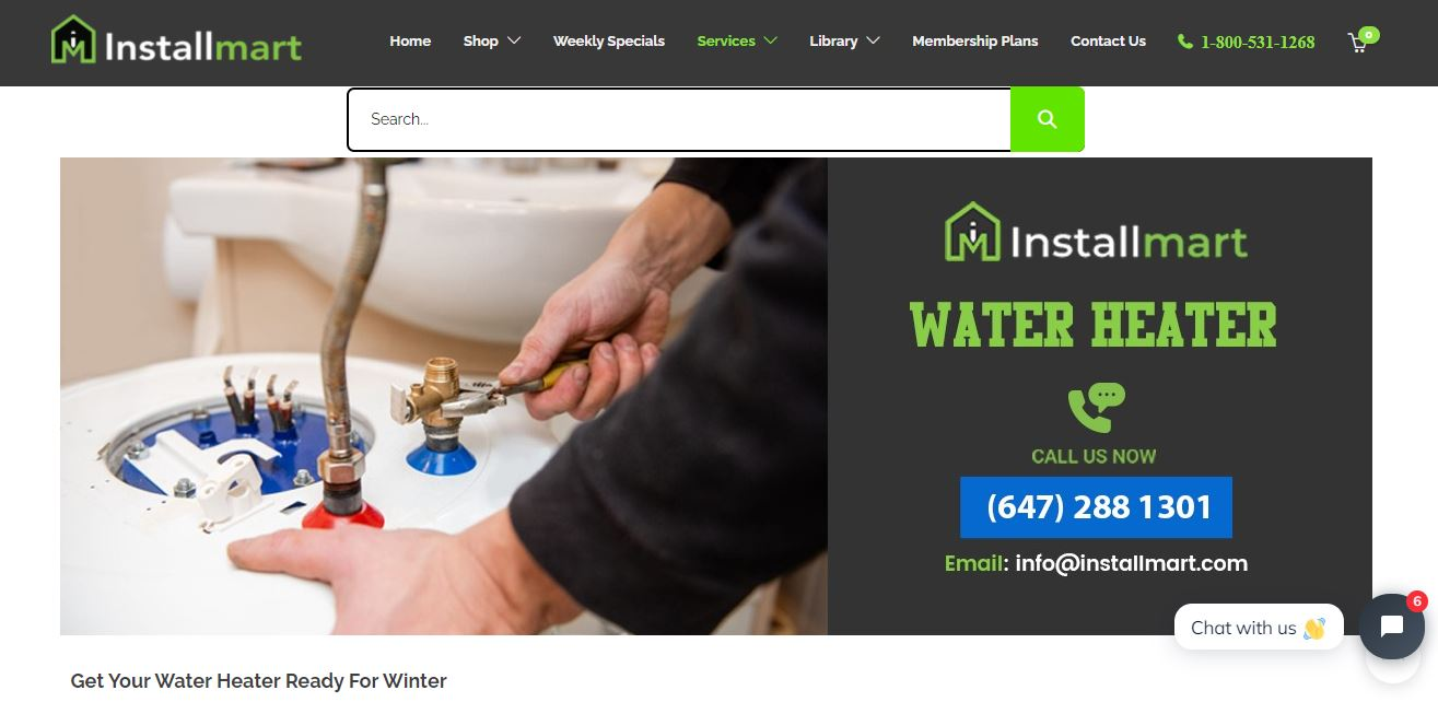 Buy Online Tankless Water Heaters Mississauga