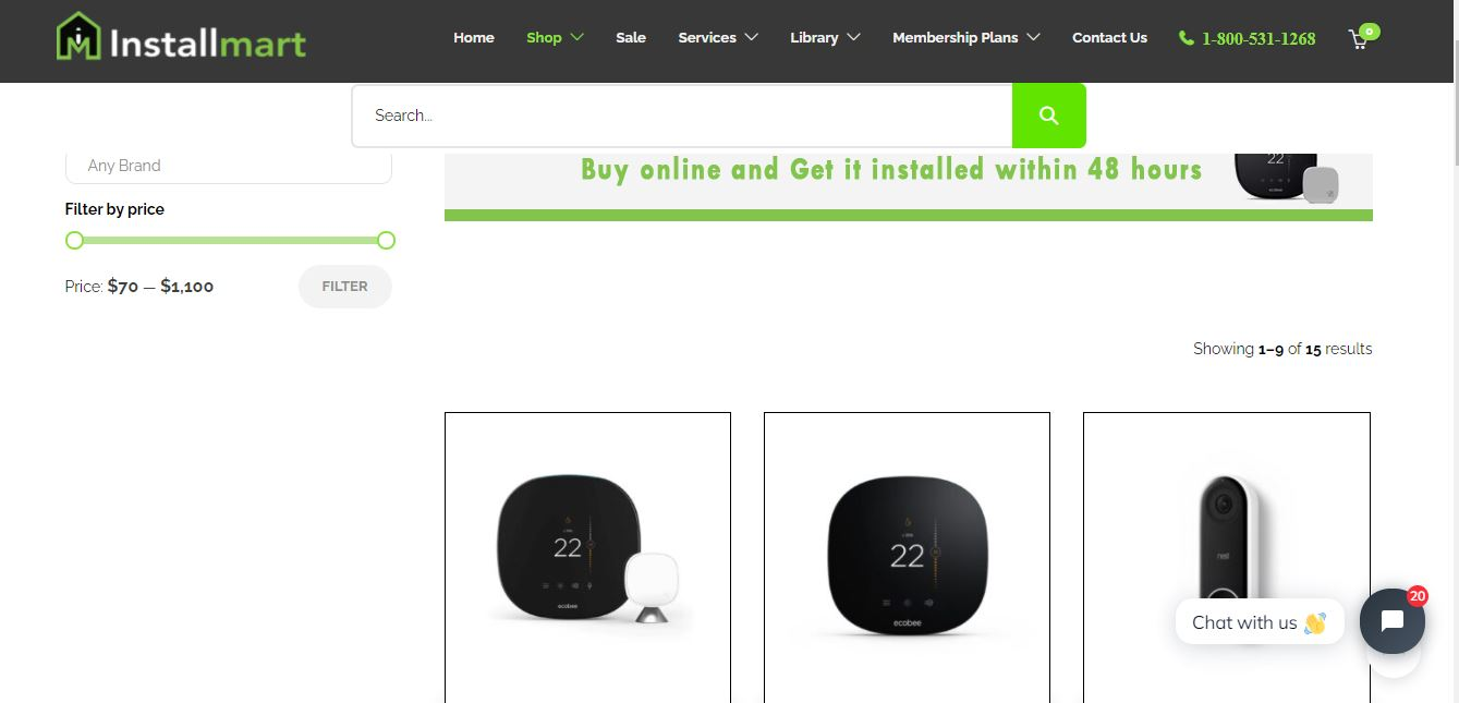 Buy Online Thermostats Mississauga