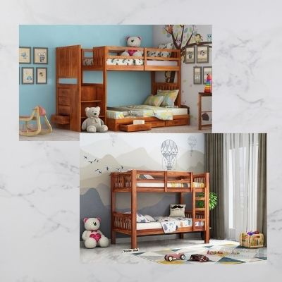 Dont Miss The Sale! Buy bunk beds for kids Online at Lowest Prices in Hyd...