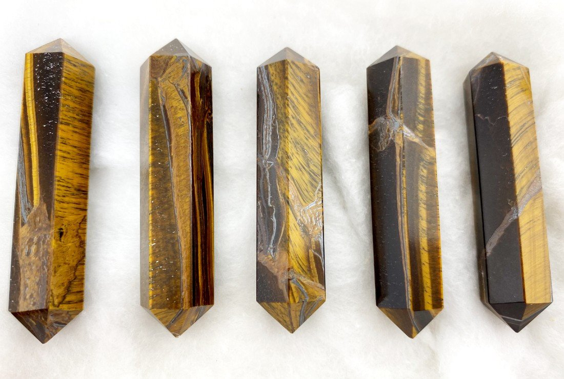 Double Ended Crystals for Healing and Protections