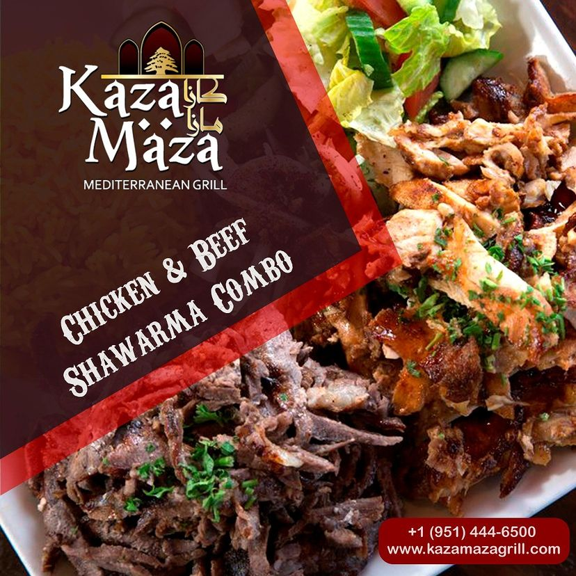 Enjoy the delicious food and hookah at the best Mediterranean restaurant in...