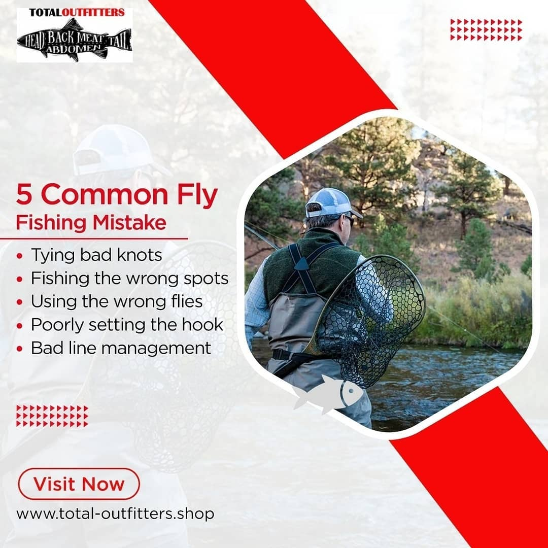 Fly Fishing gear for fishing lovers Total Outfitters