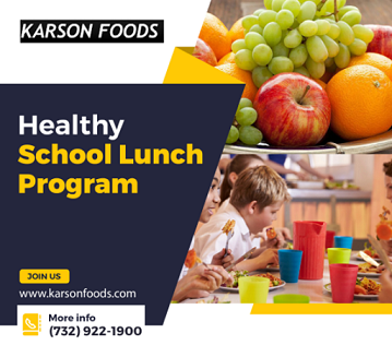 Fresh and Hot School Lunch Meal Service Provider Karson Foods NJ