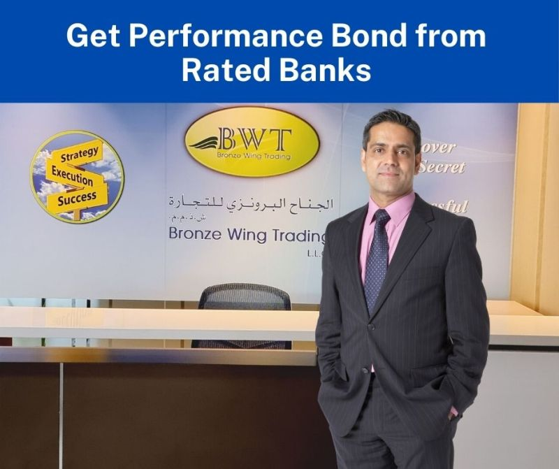 Get Performance Bond from Rated Banks