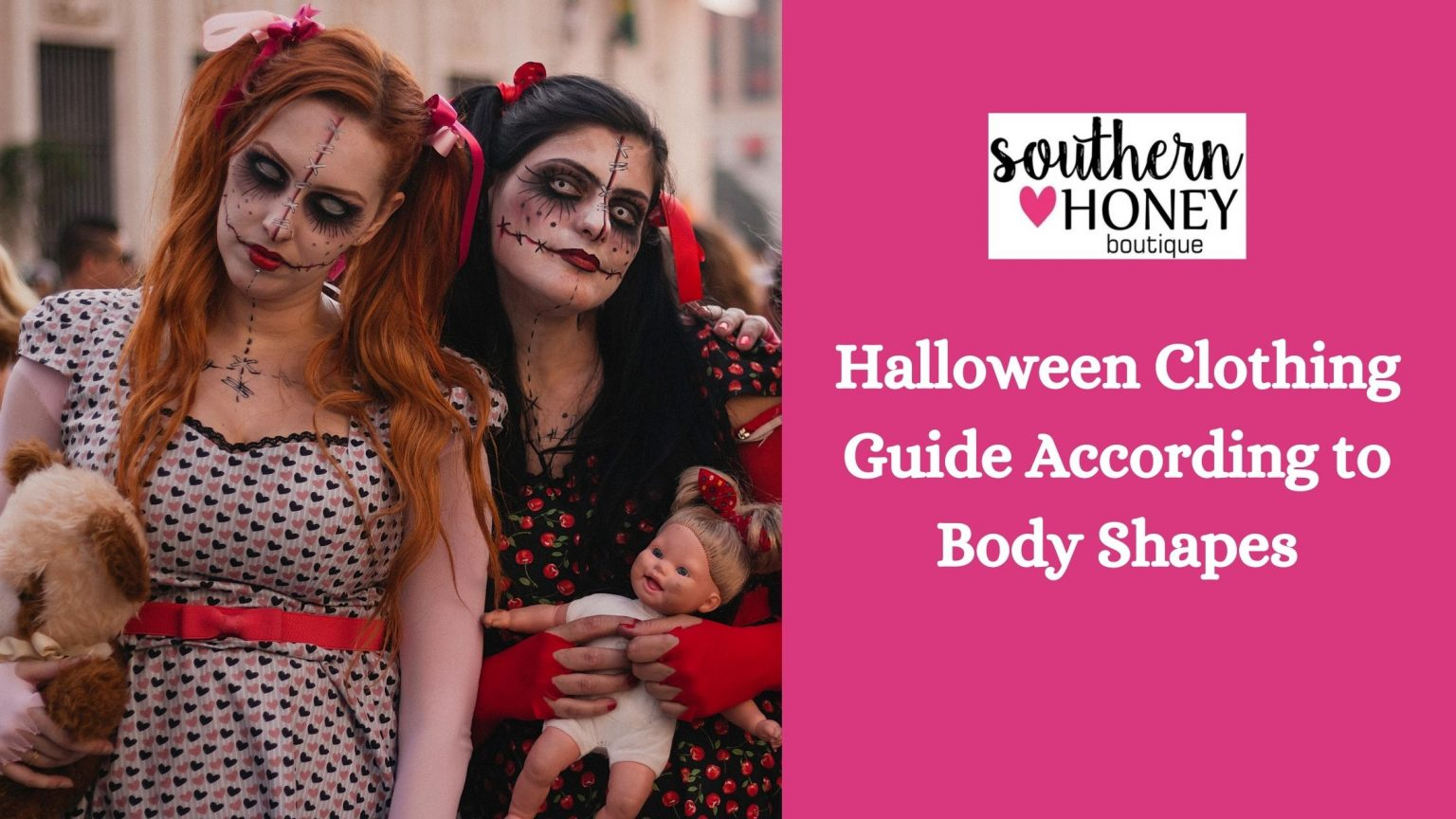 Halloween Clothing Guide According to Body Shapes
