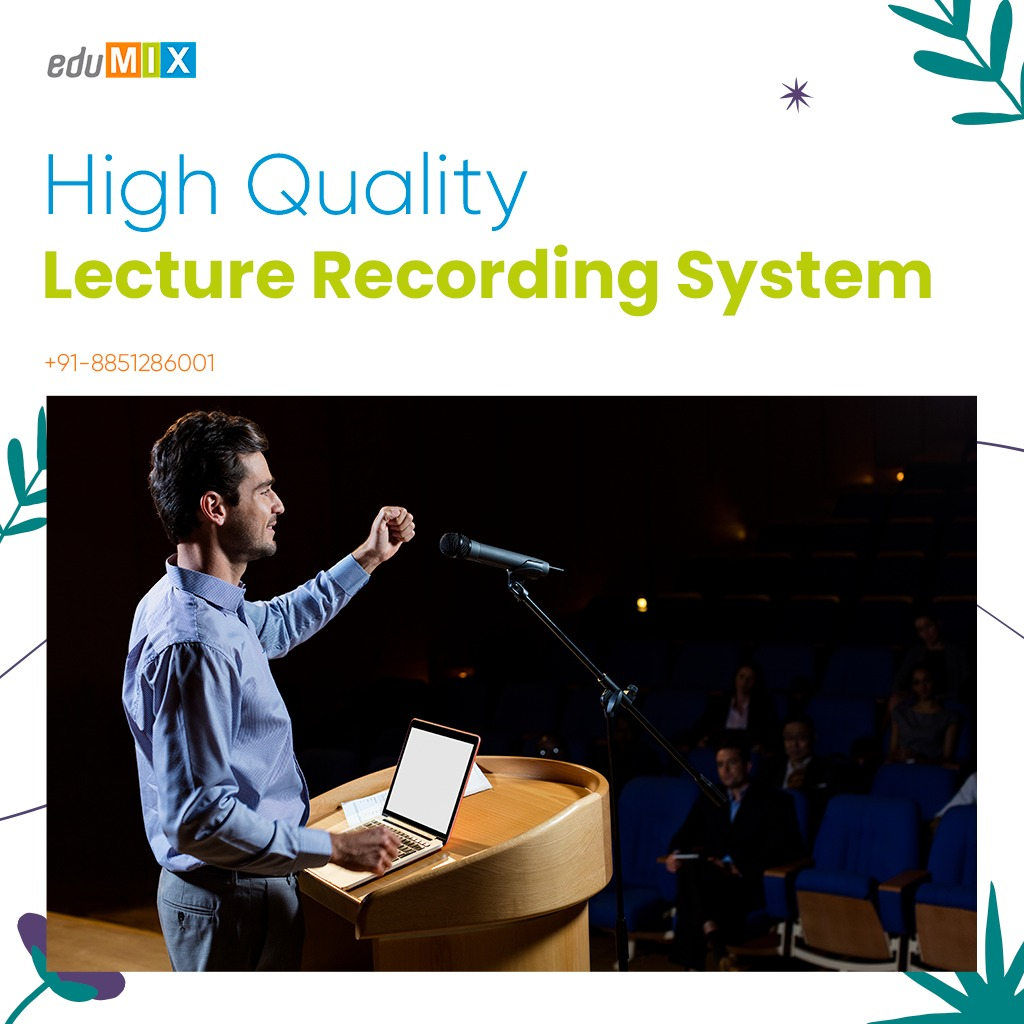 HighQuality Lecture Recording System with Edumix