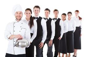 Hotel and Catering Staff Recruitment Services from India