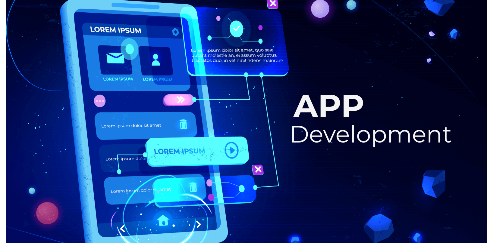 I will be your mobile app developer for android and IOS