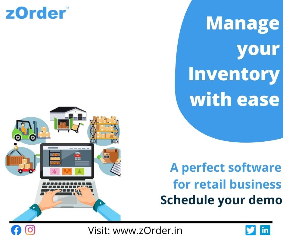 Inventory management software for businesses.