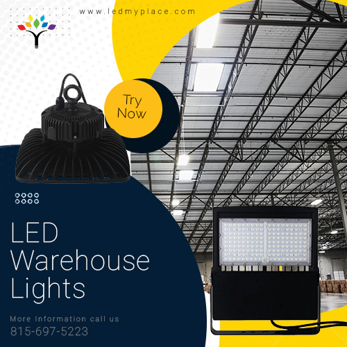 LED Warehouse Lights: make the area secure for the employees to work.