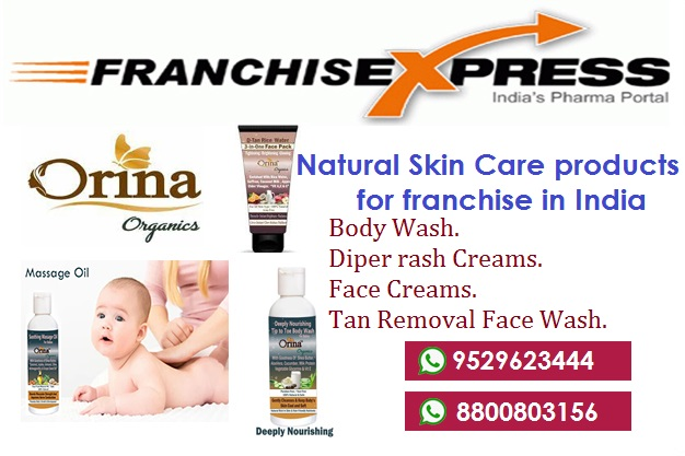 NATURAL SKIN CARE PRODUCTS FRANCHISE IN INDIA