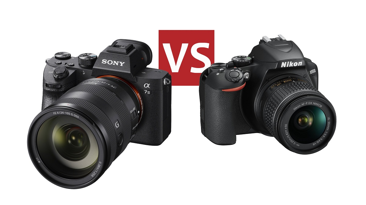 Now today talk about what the different between of mirrorless camera vs dsl...