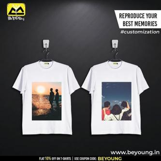 Order Best Quality Custom T shirts Online at Beyoung