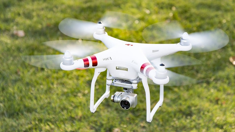 Pick up the pace, the drone with camera robot camera is just accessible for...