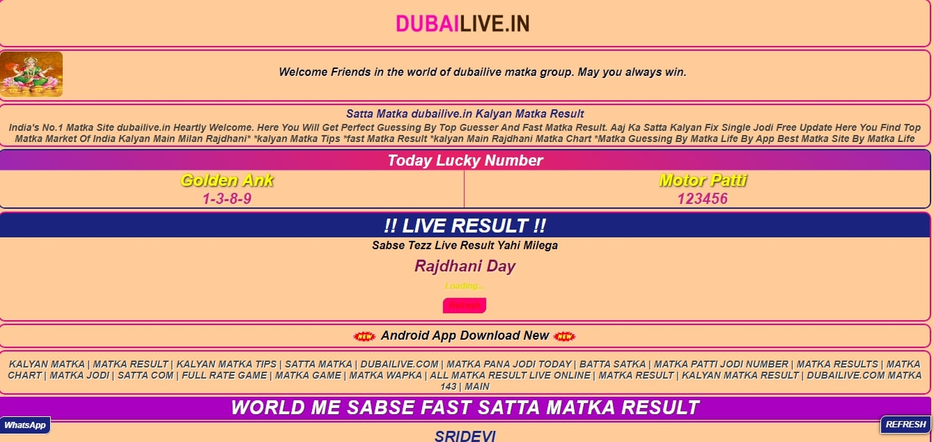 Play Online Day Dubai Satta Results And Earn Money