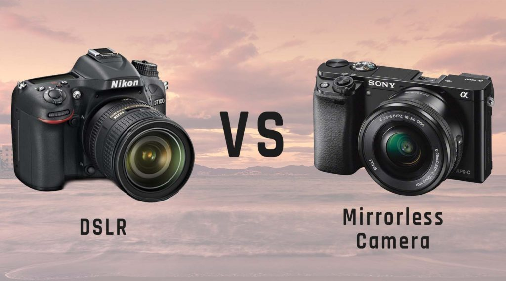 Read blog what the different between of mirrorless camera vs dslr?