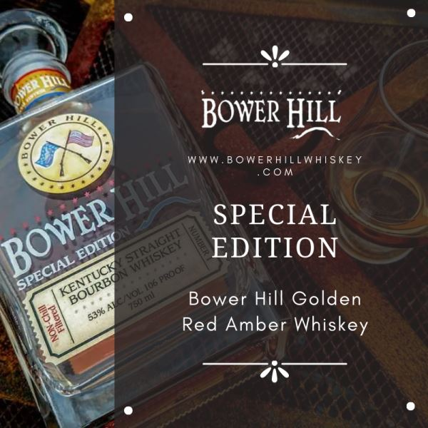 Shop Now Bower Hill Golden red Amber Whiskey