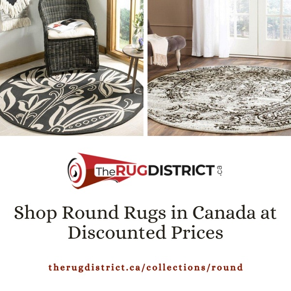 Shop Round Rugs on sale The Rug District