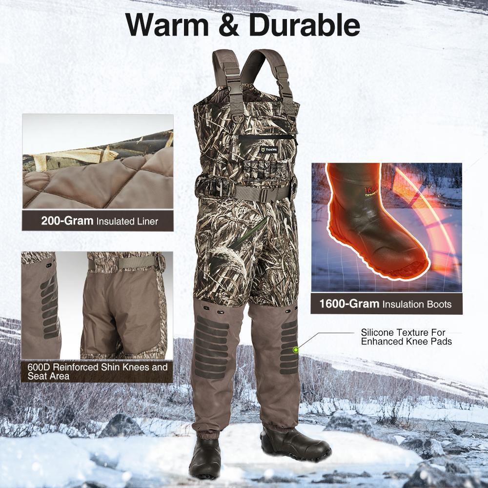 Shop the highest quality and breathable realtree timber waders