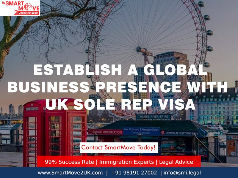 Start a Business in the UK with Sole Representative Visa