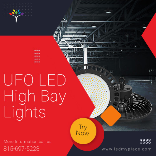 UFO LED High Bay Lights: delivers brightness to the maximum