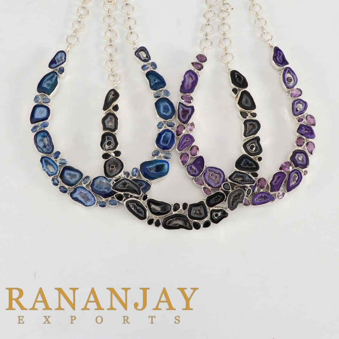 Unique Agate Jewelry Collection By Rananjay Exports Gemstone Jewelry Pendan...