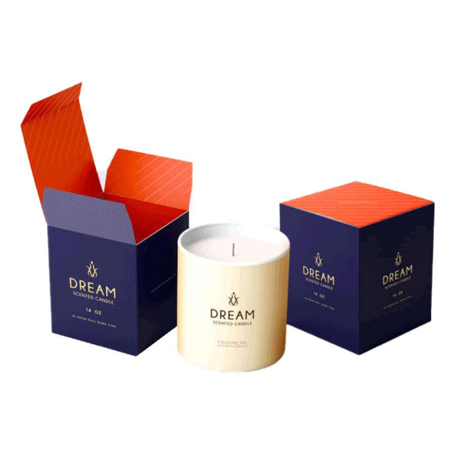 Wabs Print Packaging provides custom candles packaging boxes in the UK