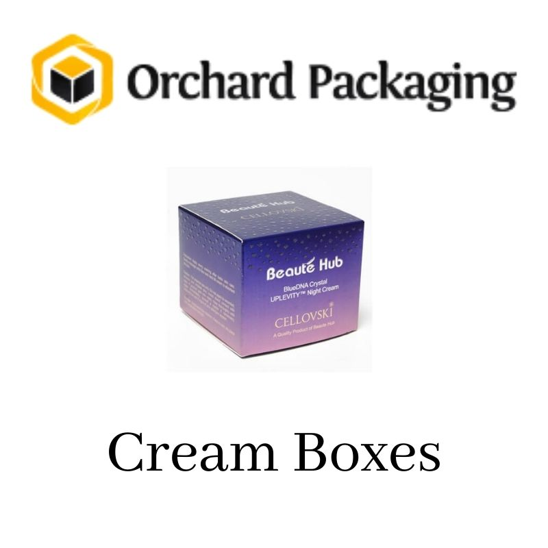 You Can Buy Custom Cream Boxes with Free Shipping