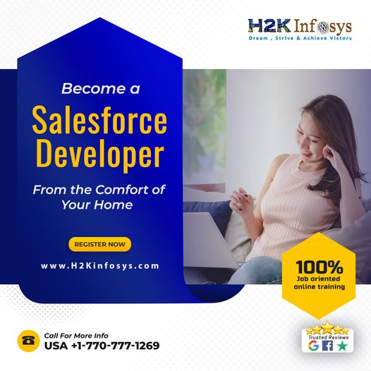 Advance your career in Salesforce Training At H2K Infosys USA