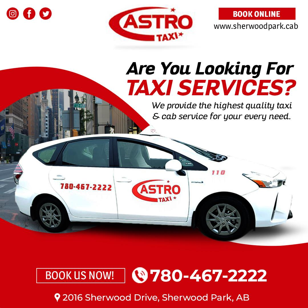 Airport Shuttle Astro Taxi Sherwood Park Cab