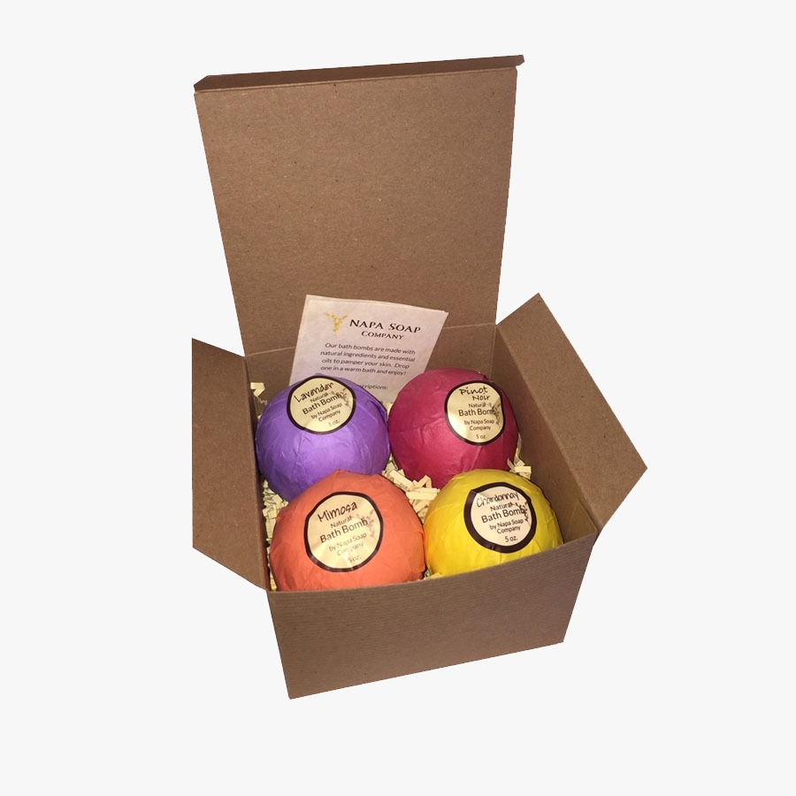 Bath Bomb Boxes Packaging