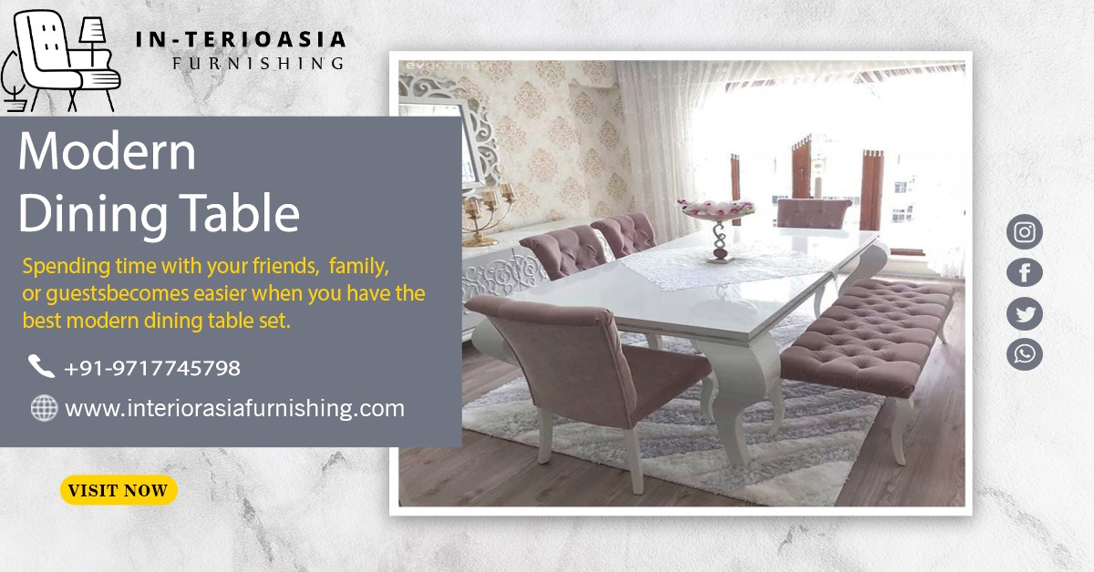Best Modern Dining Table manufacturers in Delhi ncr
